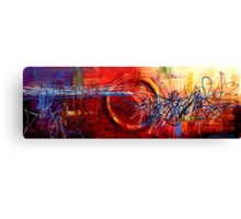 Connective Energy Canvas Print