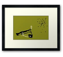 Price of human life Framed Print