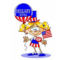 Hillary Clinton for President 2016 Photographic Print