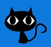 Black Cat Big Eyes by MattDC