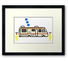 happy camper Framed Print