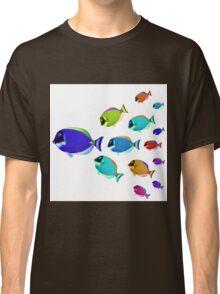 School of colorful fish  Classic T-Shirt