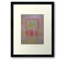 Inner sanctuary Framed Print