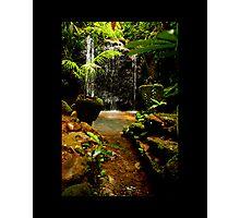 water fall paronella Photographic Print