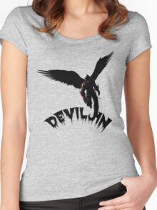 deviljin t-shirt Women's Fitted Scoop T-Shirt