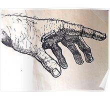 Left Hand. Poster