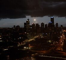 Stormy Melbourne by C1oud