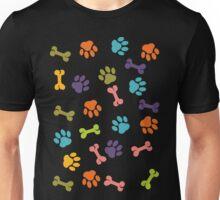 doggy steps design t-shirt Unisex T-Shirt
