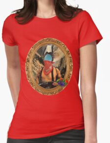 FRIENDLY WARRIOR. Womens Fitted T-Shirt