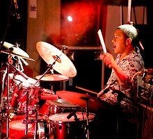 Smokin' Drums by Mark Elshout