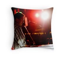 Smokin' keyboard #2 Throw Pillow
