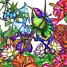 Hummingbird Heaven by bajidoo
