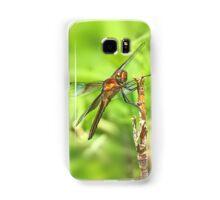 Widow Skimmer Dragonfly - Libellula luctuosa Samsung Galaxy Case/Skin