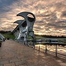 The Falkirk Wheel by Daniel Davison