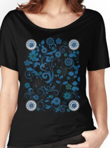 flower garden T-shirt Women's Relaxed Fit T-Shirt