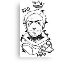 Rad Max Canvas Print