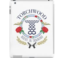 Torchwood - Agent in Training (Colour Version) iPad Case/Skin