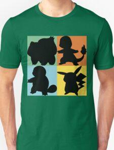 Pokemon - Kanto Starter Design T-Shirt