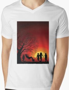Childhood T-Shirt Mens V-Neck T-Shirt