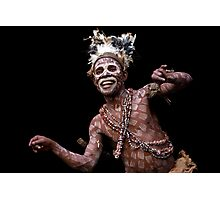 Cameroon Pygmy dance Photographic Print