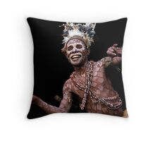 Cameroon Pygmy dance Throw Pillow