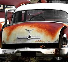 1955 Studebaker ~ Commander    ( BoneYard Series ) by Carla Jensen