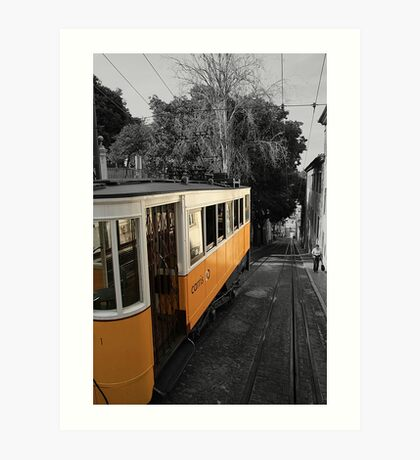 Tram - Lisbon Art Print