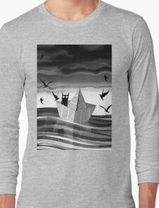 Paper Boat Long Sleeve T-Shirt