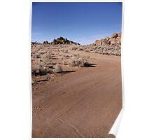 Winding Dirt Road Poster