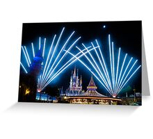 Just Do As Dreamers Do - Wishes Fireworks at Magic Kingdom Greeting Card