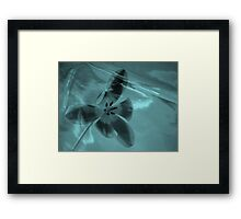 Tulip in a Tulip two  - JUSTART ©  Framed Print