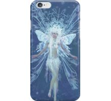 Snowflake fairy queen iPhone Case/Skin