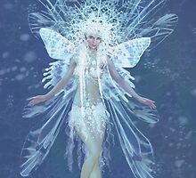 Snowflake fairy queen by Tanya Wheeler Varga