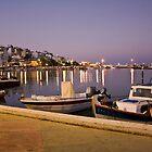 Beautiful evening on Crete, Greece by Yulia Manko