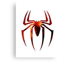 Spider Man Logo Canvas Print