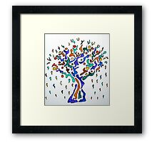 The Crying Tree Framed Print