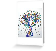 The Crying Tree Greeting Card