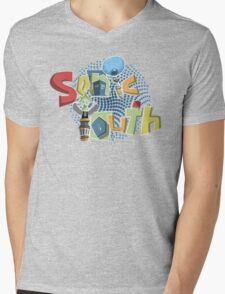 Sonic Youth Mens V-Neck T-Shirt