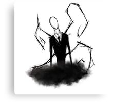 Slender Man! - Darkness Canvas Print