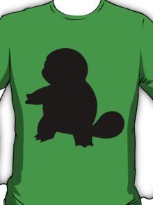 Pokemon - Squirtle Silhouette Design T-Shirt