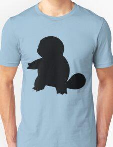 Pokemon - Squirtle Silhouette Design T-Shirt