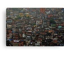 Rocina - Rio de Janeiro Canvas Print