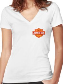 Imperial Highway Women's Fitted V-Neck T-Shirt