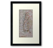 Newspaper Men Framed Print
