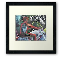 Mororcycle Ride Framed Print