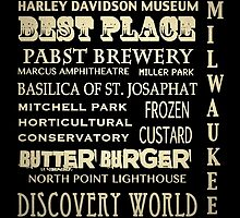 Milwaukee Wisconsin Famous Landmarks by Patricia Lintner