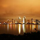 SAN DIEGO SKYLINE by fsmitchellphoto
