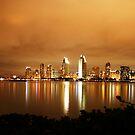 SAN DIEGO SKYLINE by fsmitchellphoto