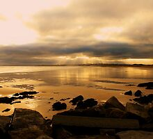 Donabate Strand in December take 2 by Martina Fagan