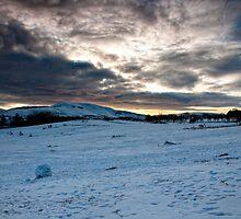 Snowy Hillls by Edward Bentley